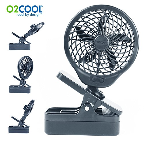 O2COOL 5 Battery Operated