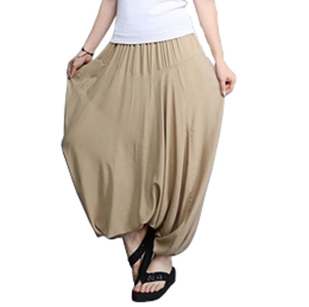 Panda Superstore Sunscreen Breathable Travel Home Loose Pants Sagging Pants Yoga Pants