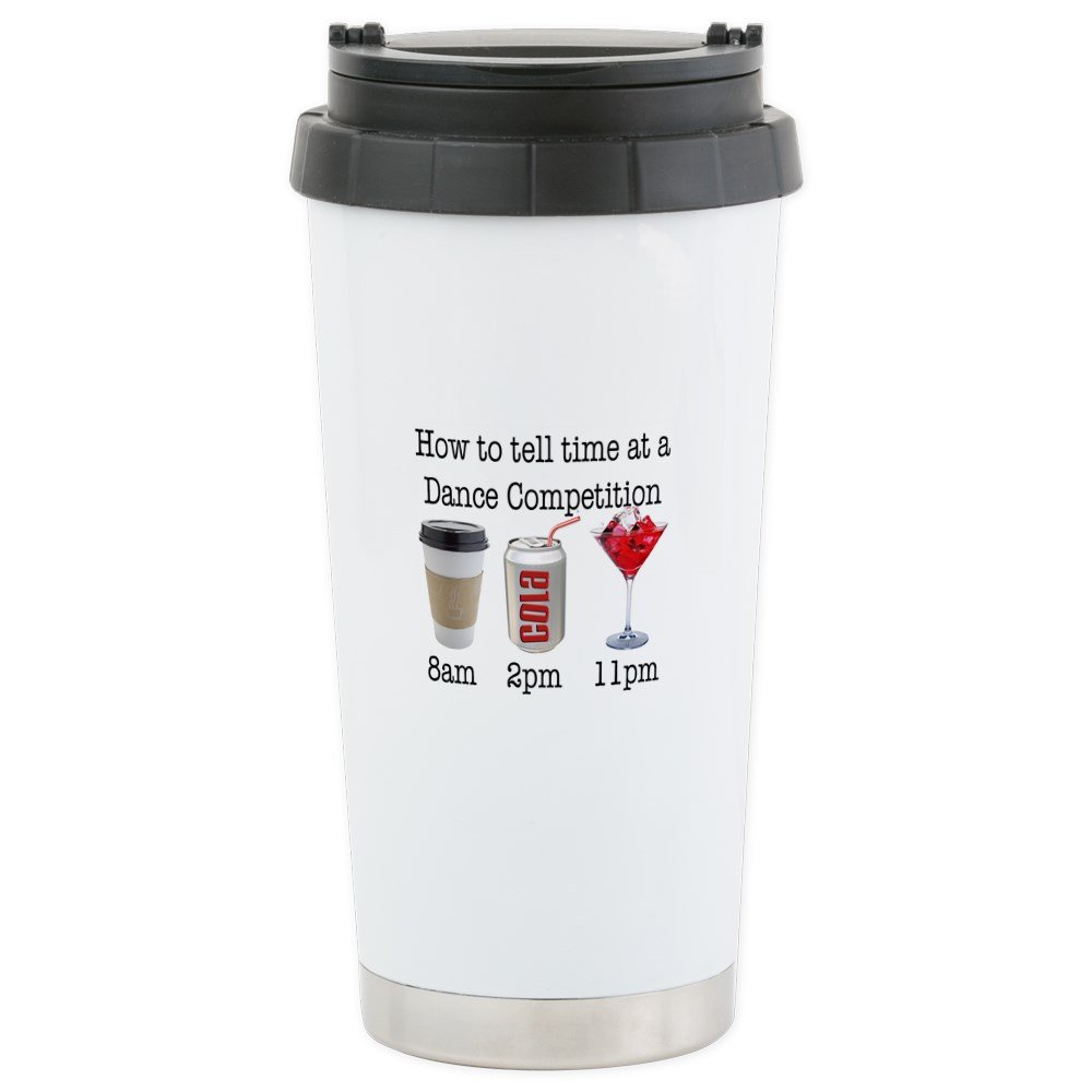 CafePress - &Quot;Comp Time&Quot; - Stainless Steel Travel Mug, Insulated 16 oz. Coffee Tumbler