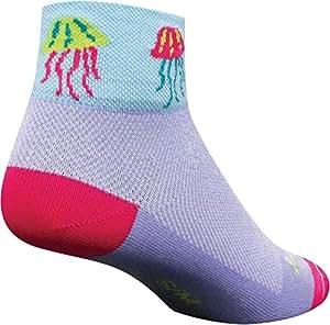 SockGuy Women's Jellyfish Sock: Purple; SM/MD