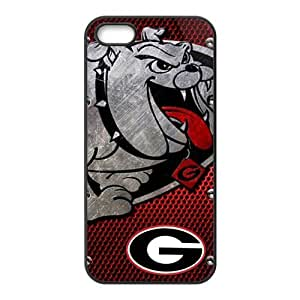 Happy Georgia Bulldogs and Lady Bulldogs Cell Phone Case for Iphone 5s