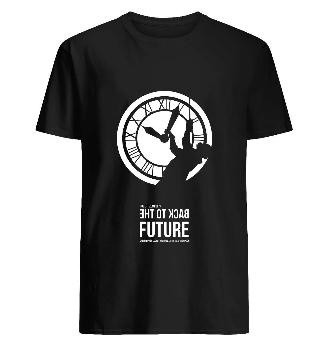 Back To The Future Doc Brown The Clock Tower 83 T Shirt For Unisex