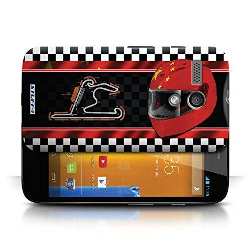 Etui / Coque pour Motorola MOTO G (2013) / Chine/Shanghai conception / Collection de F1 Piste Drapeau