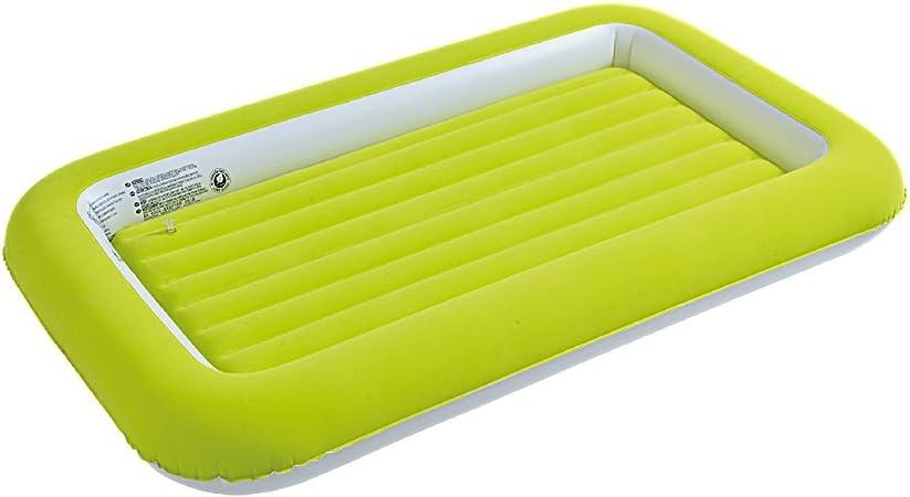JILONG Easigo Kids Safety Bed - Cama Hinchable Infantil con Borde Elevado y Superficie de Velour, 152 x 89 x 17,5 cm