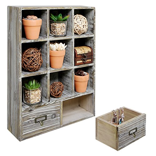 Rustic Mounted Storage Drawers Holders