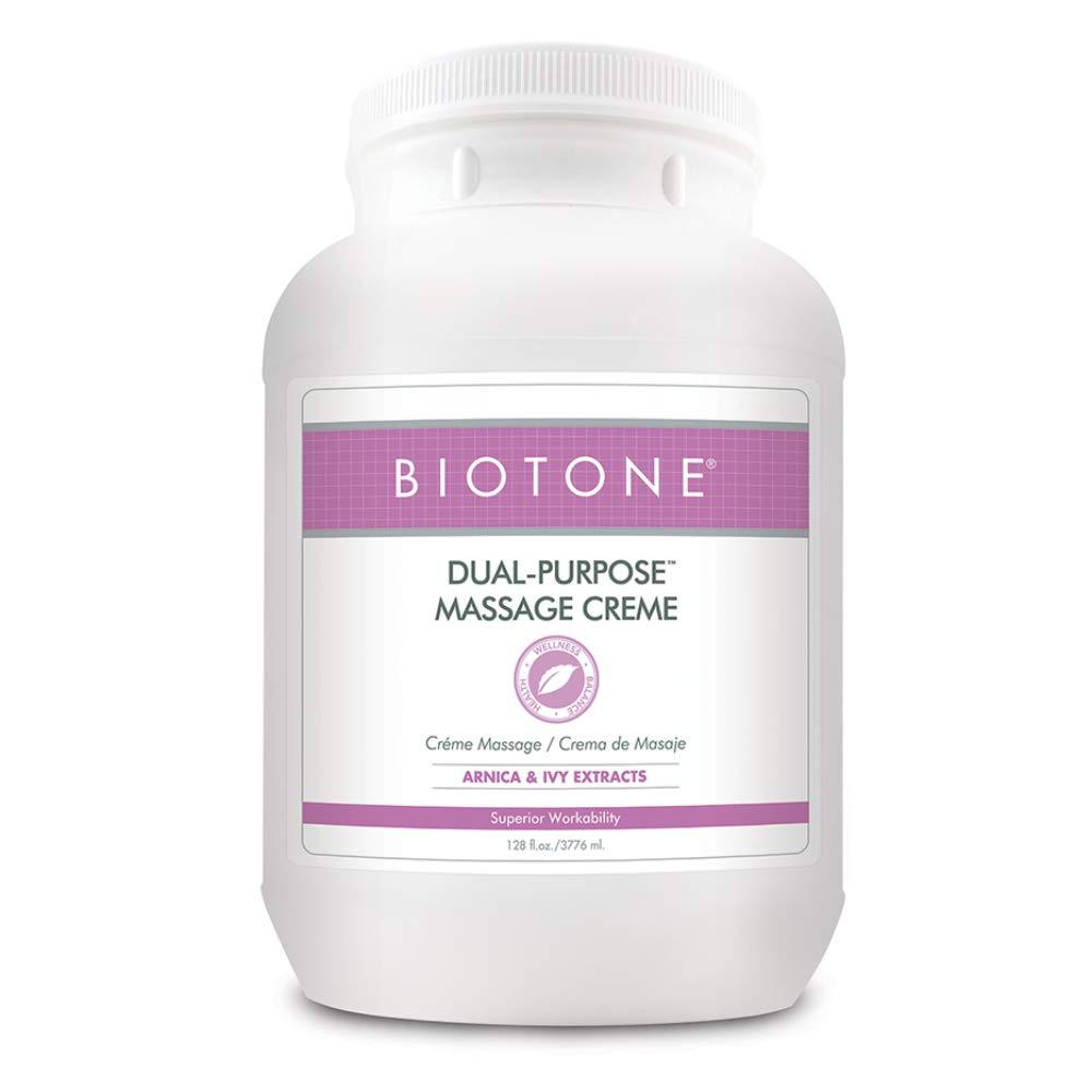 Biotone Dual Purpose Massage Cream, 128 Ounce by Biotone