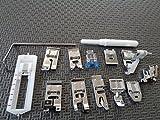 zipper foot singer simple - NGOSEW Low Shank Presser Foot Feet Kit Set Singer Simple 3116,2263,3221,3223,3232,3337,3229