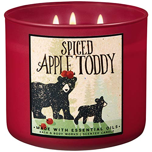 Bath and Body Works 2018 Holiday Limited Edition 3-Wick Candle (Spiced Apple Toddy)
