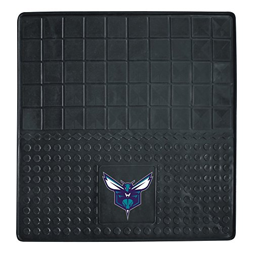 Charlotte Basketball Rug - Fanmats 10834 NBA Charlotte Hornets Vinyl Heavy Duty Cargo Mat