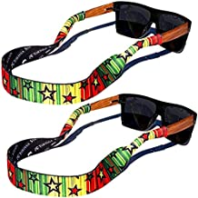 TORTUGA STRAPS FLOATZ Relaxed Fit Glasses Strap - 2 Pk | Floating Adjustable Sunglass Straps | Soft & Comfortable Dual Sided Fabric | 3MM Neoprene Base for Added Durability | Universal Easy Fit