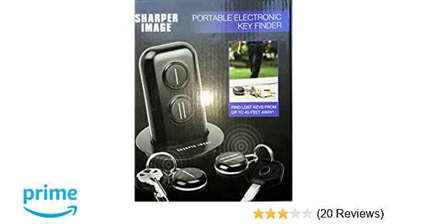 Amazoncom The Sharper Image Portable Electronic Key Finder Car