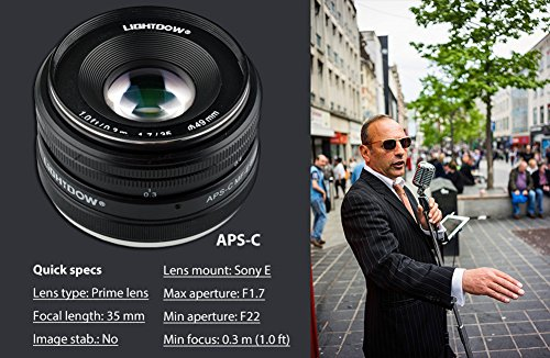 51qg4txGsdL - Sony SEL35F18 35mm f/1.8 Prime Fixed Lens