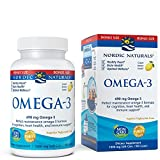 Nordic Naturals Omega-3 Soft Gels - Omega-3 Essential Fatty Acids Aid in Cognition, Heart Health, and Immune Support, Lemon Flavor, 90 Count