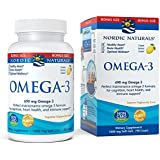 Nordic Naturals Omega-3 Soft Gels - Omega-3 Essential Fatty Acids Aid in Cognition, Heart Health, and Immune Support, Lemon Flavor, 90 Count Bonus Size