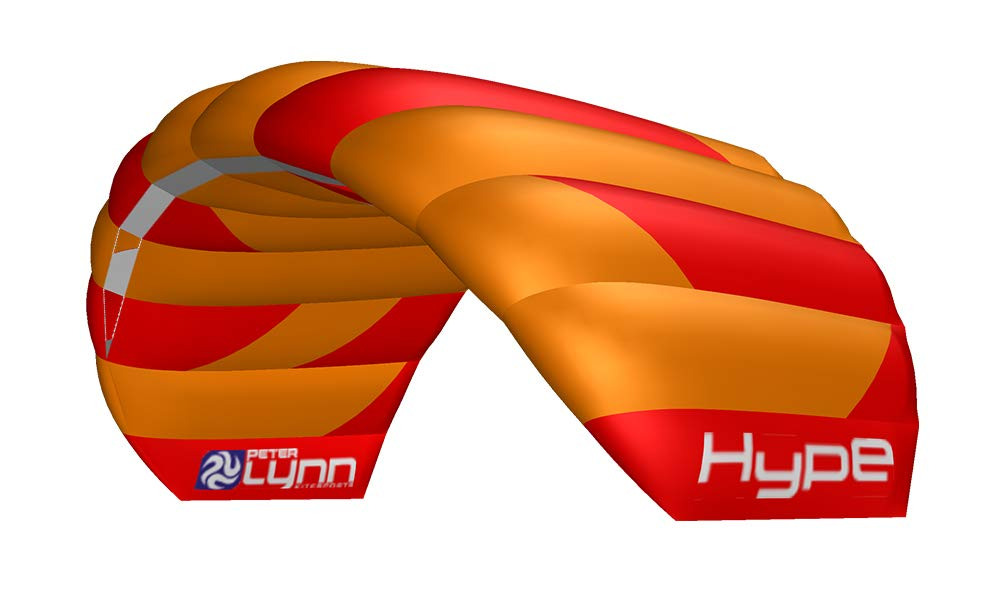 1.6M 2019 Peter Lynn Hype Complete Power Kite With Straps