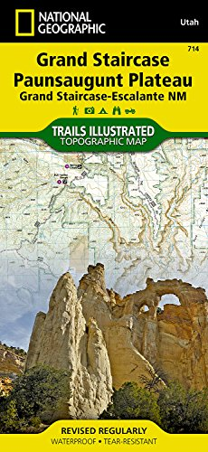 Grand Staircase, Paunsaugunt Plateau [Grand Staircase-Escalante National Monument] (National Geographic Trails Illustrated Map)