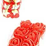 PRALB-288PCS-Artificial-Rose-Baby-Breath-Flowers-Fake-Rose-Babys-Breath-for-Bridal-Wedding-Home-Garden-Party-Decoration-Floral-Arrangement-Bridesmaid-Bridal-Bouquet-Gifts-Red-Blue