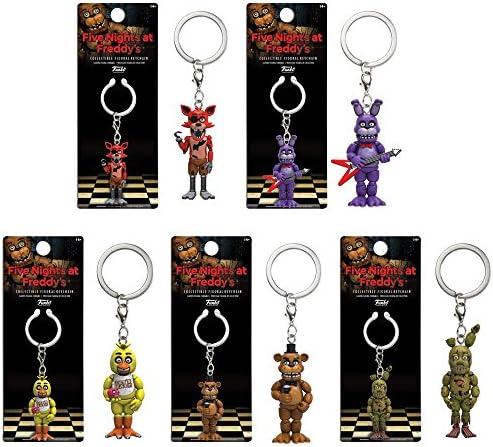 پنج شب در Freddy's Foxy ، بانی ، Chica ، Freddy ، کلید بهار تله بهاری! مجموعه 5