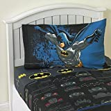 Warner Bros Batman Guardian Speed Twin Sheet Set Cotton Rich