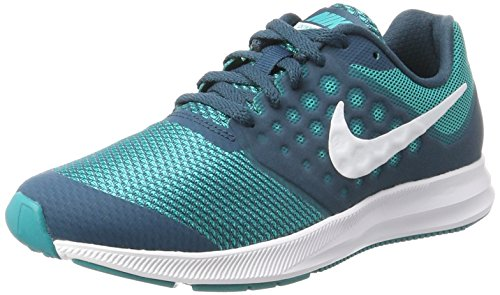 Downshifter White 401 Space GS Turbo Multicolore 7 NIKE Donna Scarpe Running Blue Green gwRqdgx6W