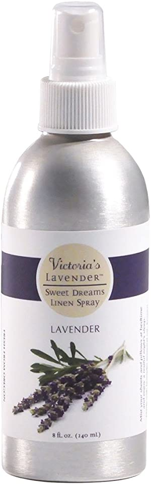 Victoria's Lavender Pillow and Linen Spray Sleep Better Tonight 100% Pure Lavender Essential Oil Handmade in Oregon (8 oz)   Made in USA