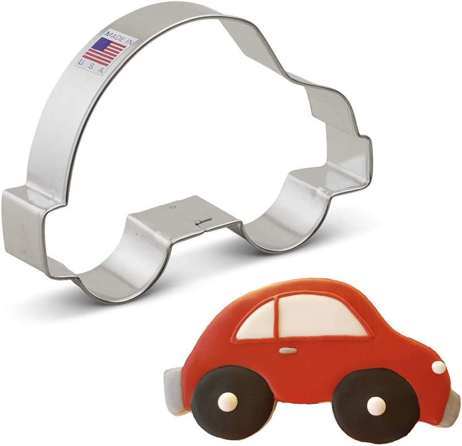 Ann Clark Cookie Cutters Small Car Cookie Cutter, 4.75""