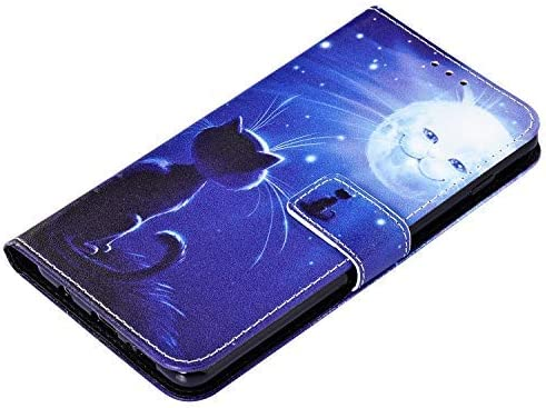 Uposao Compatible avec Samsung Galaxy S9 Plus Coque Color/é Motif /Étui en Cuir PU,Portefeuille /à Rabat Magn/étique Flip Livre Style Stand Coque Compatible avec Housse Samsung Galaxy S9 Plus,Tigre Noir