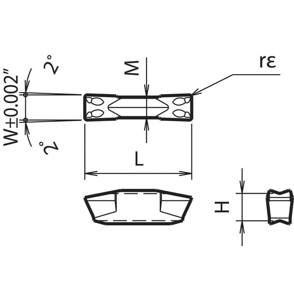 Index Grooving Insert Kyocera GMM 301404 PR930 Grade PVD Carbide 10pcs