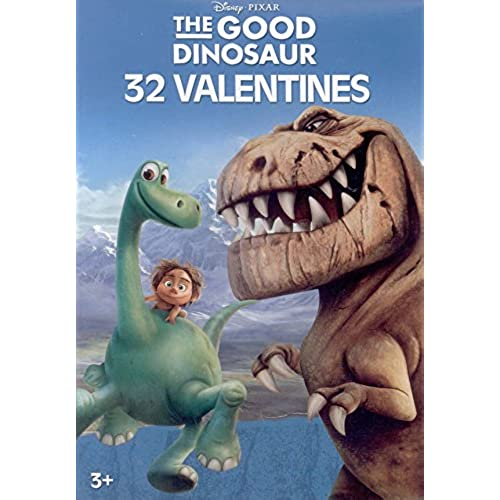 Disney Pixar The Good Dinosaur Valentines Day Cards - Box of 32 Cards Sales