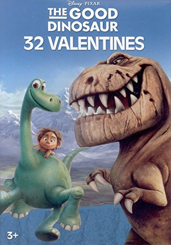 1690 Costume (Disney Pixar The Good Dinosaur Valentines Day Cards - Box of 32 Cards)