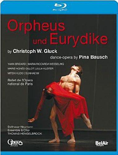 Orpheus und Eurydike by Christoph Willibald Gluck, Opera-Dance by Pina Bausch (Opéra national de Paris 2008) [Blu-ray]