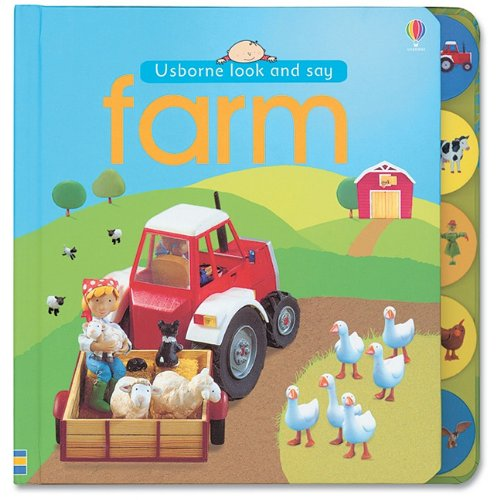 Farm (Look and Say Board Books)