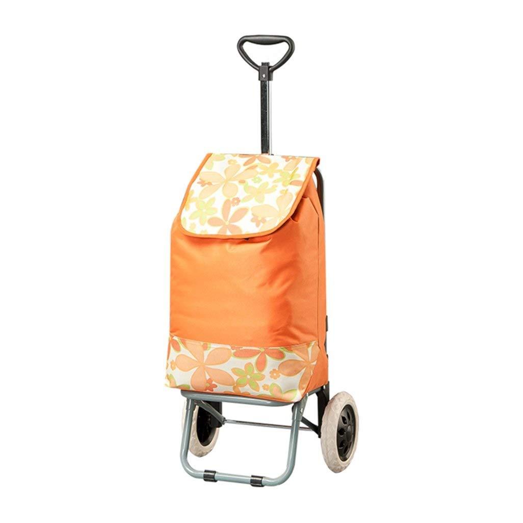 防水大型スーパーマーケットのショッピングカート、トロリー、食料品の買い物のトレーラー、高齢者のショッピングカート、荷物のカート、手押し車 B07RQP9L51