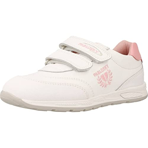Pablosky 255400 - Zapatillas Infantiles, Color Blanco, Talla 34
