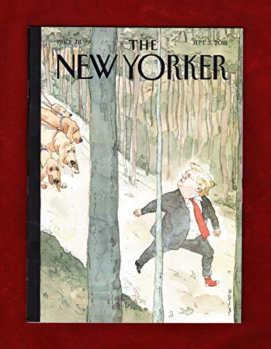 The New Yorker Magazine (September 3 2018) Donald Trump Closing In Cover