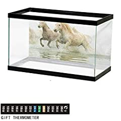 【Fits Most Aquarium】:You can choose the size you need from 13 sizes.It can be adjusted to fit most aquarium sizes.  【High Quality PVC】:Made of high quality PVC, waterproof, easy to clean and durable. Thickened decoration paper is high ...