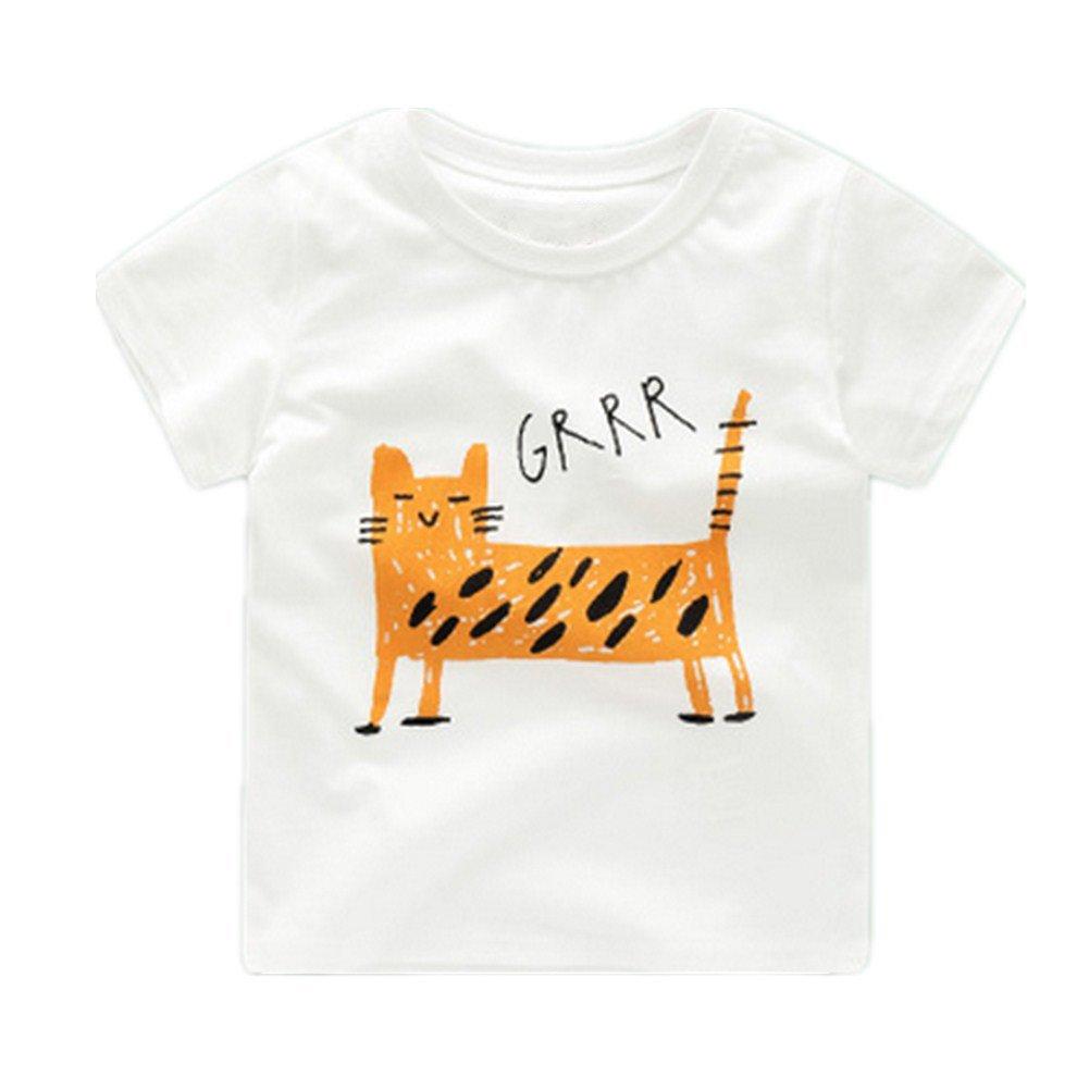 Motecity Fashion Little Boys' Cute Cartoon T-Shirt