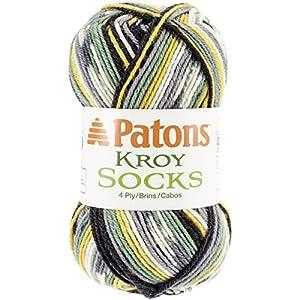 Kroy Socks Yarn-Greener Pastures Jacquard