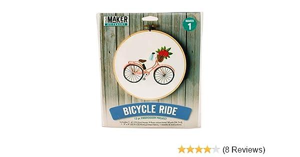 Cross Stitch Kit Bicycle M-029