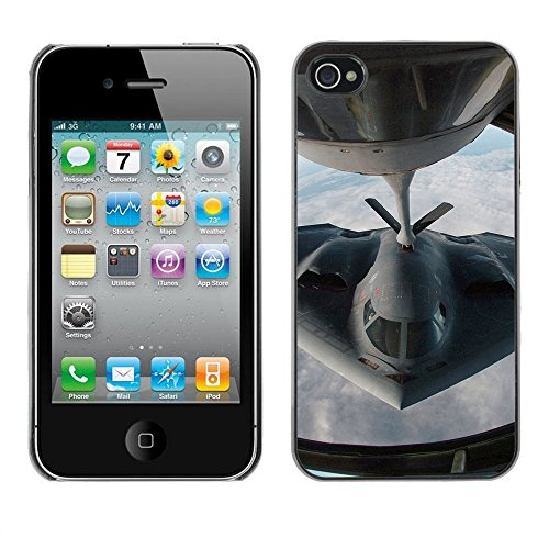 Stealth Figther Plane - For Apple iPhone 4 / 4S