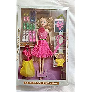 BUYAGAIN Princess Doll (Multicolour)
