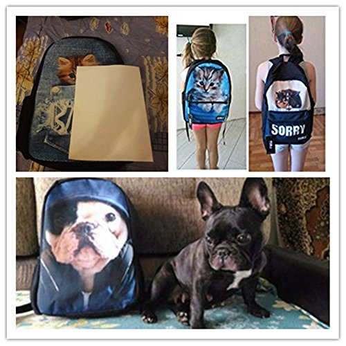 Sannovo Crazy Horse Backpack Set 3 Pieces Patterned Lunchbox School Pencil Bag