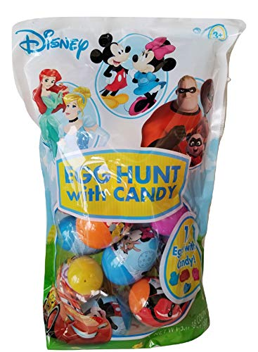 Frankford Characters Easter Egg Hunt Eggs Filled with Candy! -