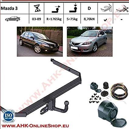 Acople con haz 13 pines | Mazda 3 de 2003 a 2009 Hatchback/gancho