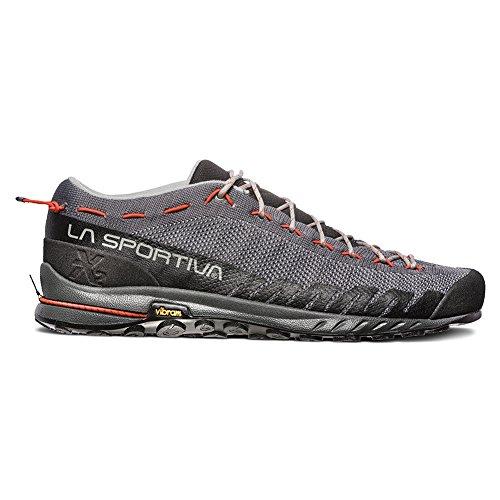 La Sportiva Tx2 Scarpe Da Trekking - Uomo Carbonio / Tangerine
