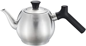 304 Stainless Steel Teapot With Filter Anti-scalding Thickening 1L Induction Cooker Universal Bubble Teapot