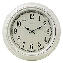 kieragrace Farmhouse wall-clocks, White