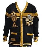 Big Boy Headgear Alpha Phi Alpha Fraternity Men's Wool Sweater 3XL Black/Gold