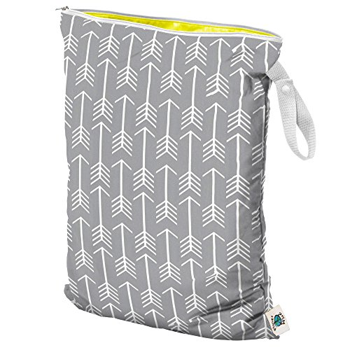 Planet Wise Wet Diaper Tote Bag, Aim Twill, ()