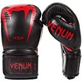 Venum Giant 3.0 Boxing Gloves 16-Ounce, Black/Red